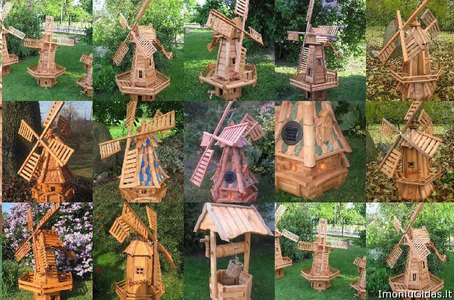 Декоративные садовые изделия из дерева своими руками фото
